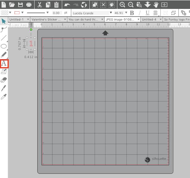 Silhouette Studio Larger Grid Numbers Hack Silhouette Studio Silhouette Cameo Tutorials Silhouette