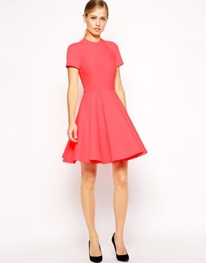 72cea6071767 Enlarge Ted Baker Dress in Embossed Neoprene Latest Outfits