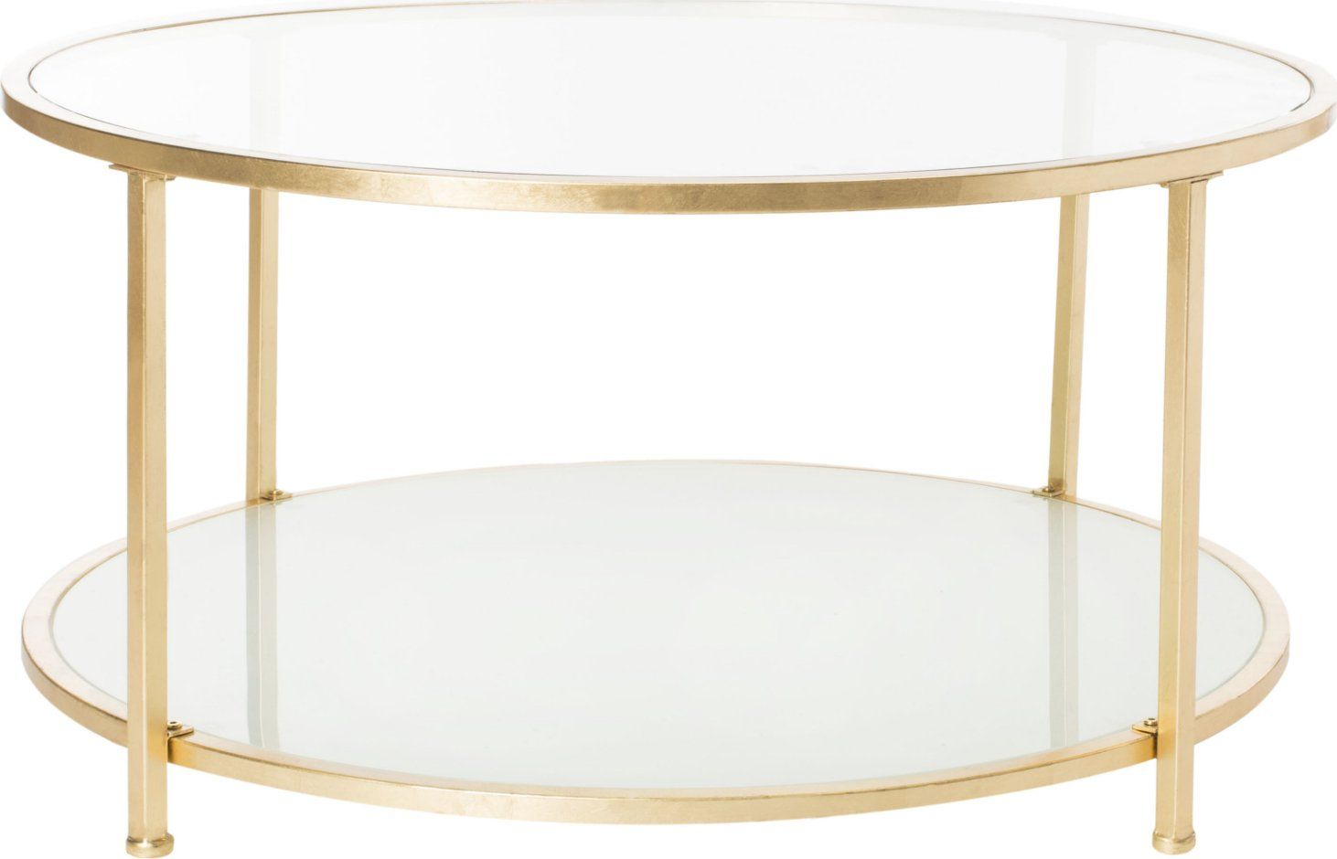 Safavieh Ivy 2 Tier Round Coffee Table Gold In 2021 Coffee Table Sleek Coffee Table Gold Coffee Table [ jpg ]