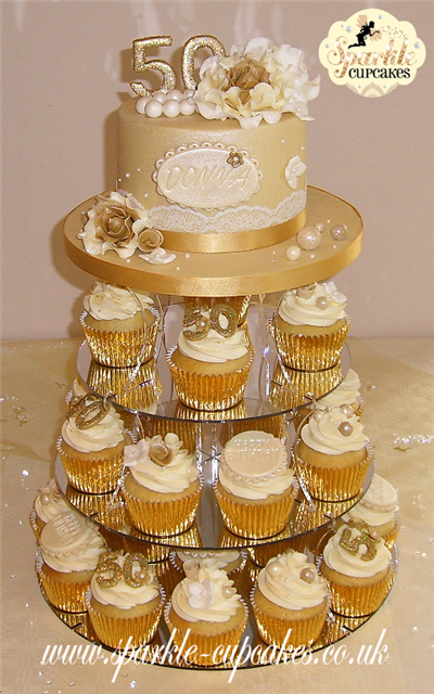Golden Birthday Party Decor