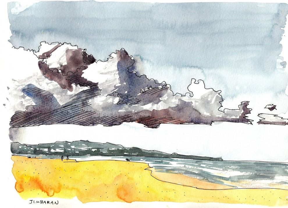 All the sketches from my Bali Sketching Trip 2014 | Parka Blogs
