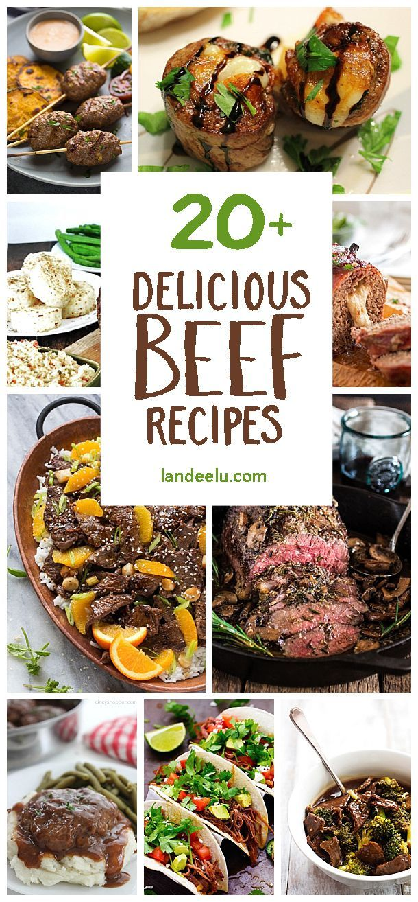 Over 20 beef recipes that are sure to satisfy the meat lover(s) in your life! Everything from the perfect pot roast to hearty beef stew. You'll love them!