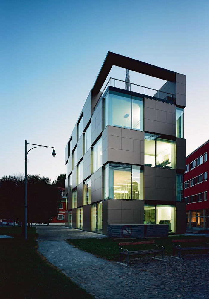 Creative Nikolaiplatz Building By Atelier Thomas Pucher Alfred