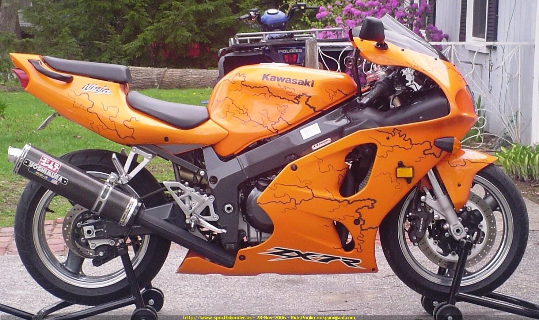 2003 Kawasaki ZX7R Sports bikes motorcycles, Sport