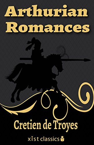 Arthurian Romances (Xist Classics) by Cretien de Troyes http://www.amazon.com/dp/B01D3K18ZE/ref=cm_sw_r_pi_dp_9wT8wb0Q6E9XD-Arthurian Romances by Chrétien de Troyes is a collection of short stories set in the Early Middle Ages, in England. They follow the path of several knights – including Lancelot's dad – through adulthood focusing on their romantic affairs. What tests will the knights encounter in order to prove themselves worthy of a woman's love?