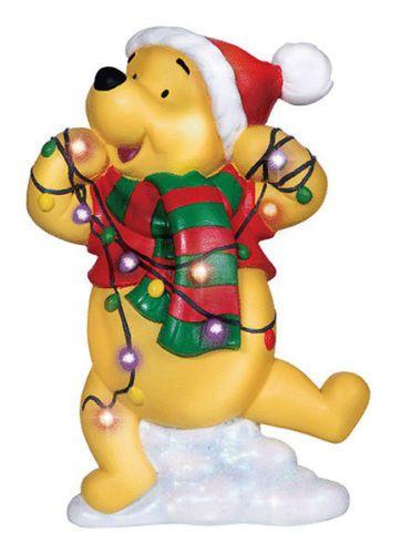 winnie the pooh led winnie the pooh precious christmas lightschristmas