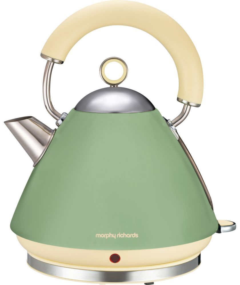 buy morphy richards 102001 traditional kettle sage green. Black Bedroom Furniture Sets. Home Design Ideas
