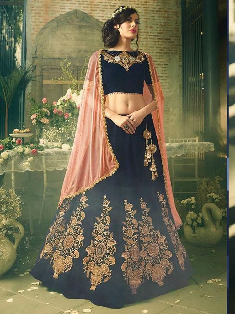f0d3c54944 indian new fancy bollywood designer party wear new fancy lehenga | eBay