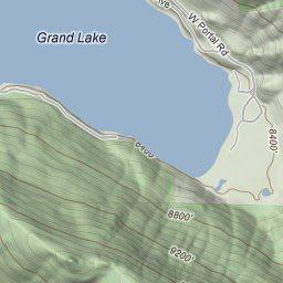 Grand lake granby colorado fishing report map by for Lake granby fishing report