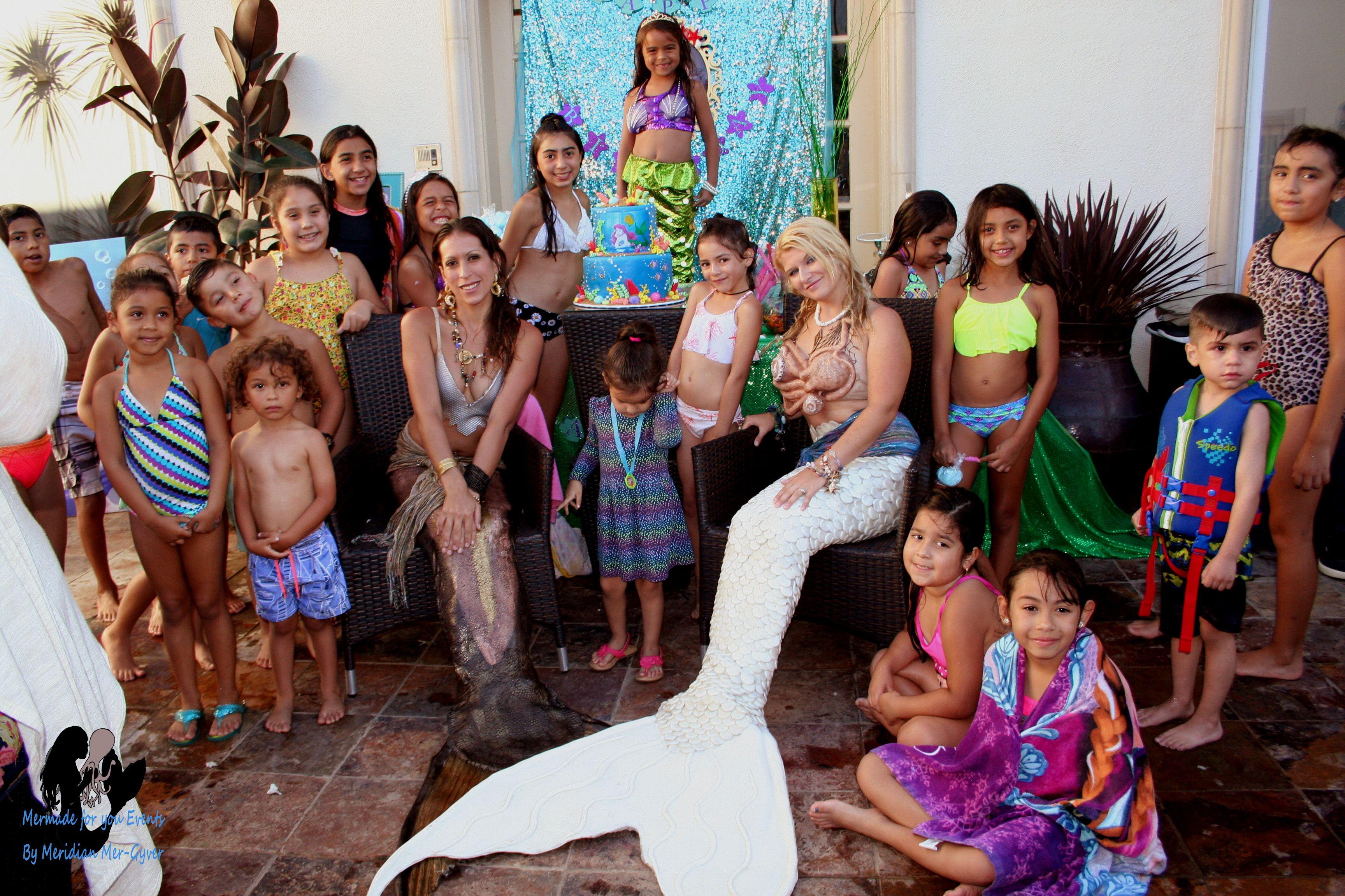 Last weekends lavish mermaid birthday party was a huge success