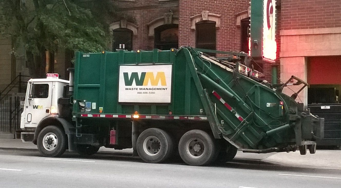 Garbage Truck Waste Management Chicago By Jrc With Images