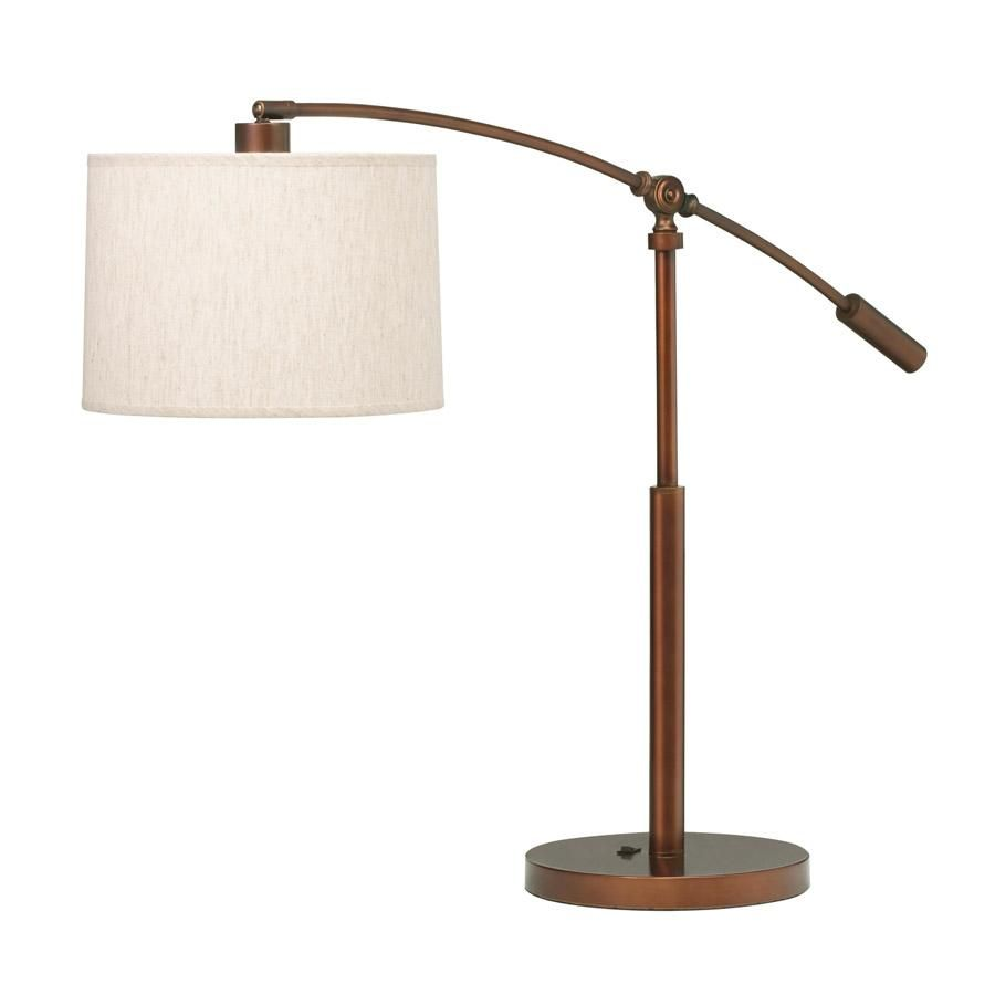 Kichler lighting 70756bcz cantilever curnish copper bronze swing kichler lighting 70756bcz cantilever curnish copper bronze swing arm table lamp littman bros lighting geotapseo Gallery