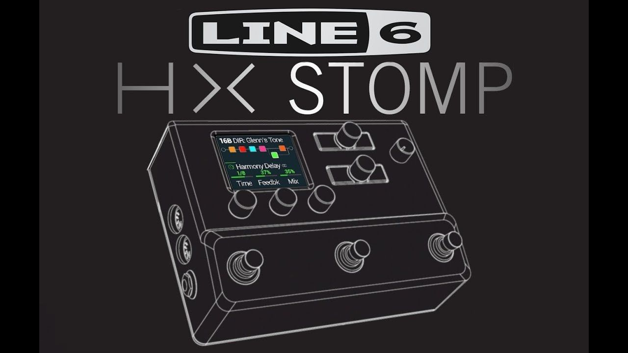 New Line 6 Hx Stomp Introduction Demo By Glenn Delaune Line Demo Keep Calm Artwork