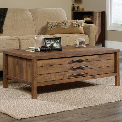 Odile Coffee Table With Storage Coffee Table Farmhouse Farmhouse Coffee Table Decor Coffee Table Wood