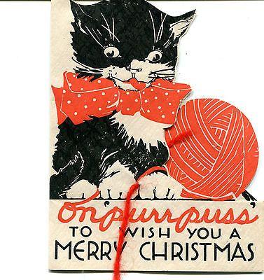 CAT CARD, UNUSED