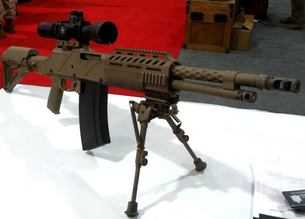 ohio ordnance works to demo its 30 06 assault rifle firearms