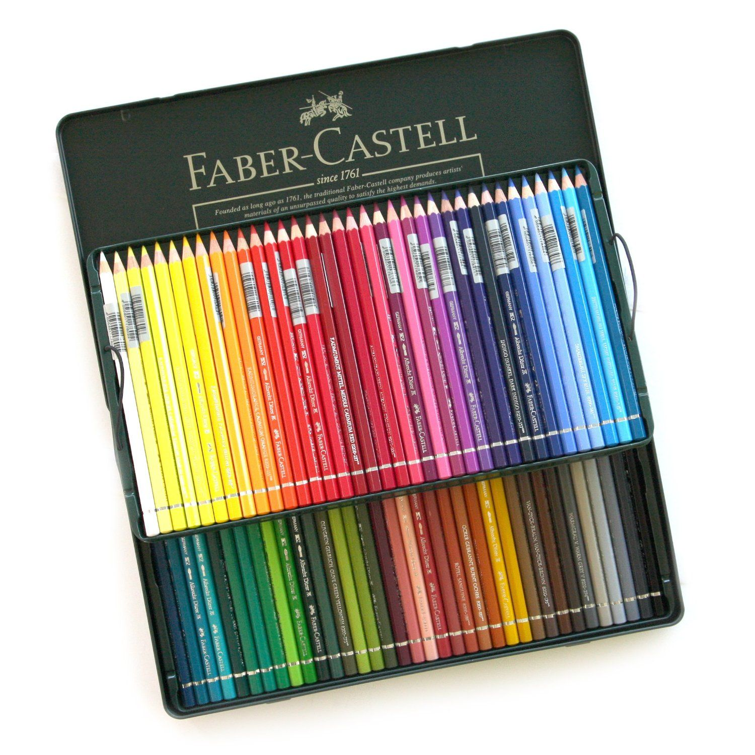 Amazon Com Faber Castell Water Color Colour Artists Pencils