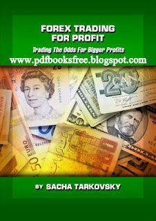 Title of the book is 'Forex Trading for profit' trading the odds for bigger profits. written by Sacha Tarkovsky.