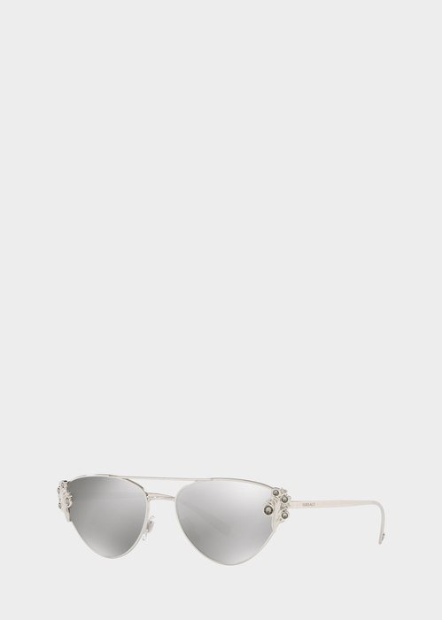 7d9cb518fae3 Versace Baroccomania Pilot Sunglasses for Women