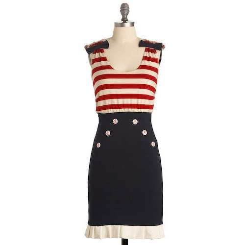 patriotic dresses for women | Stayton Dress-Mod Retro Indie ...