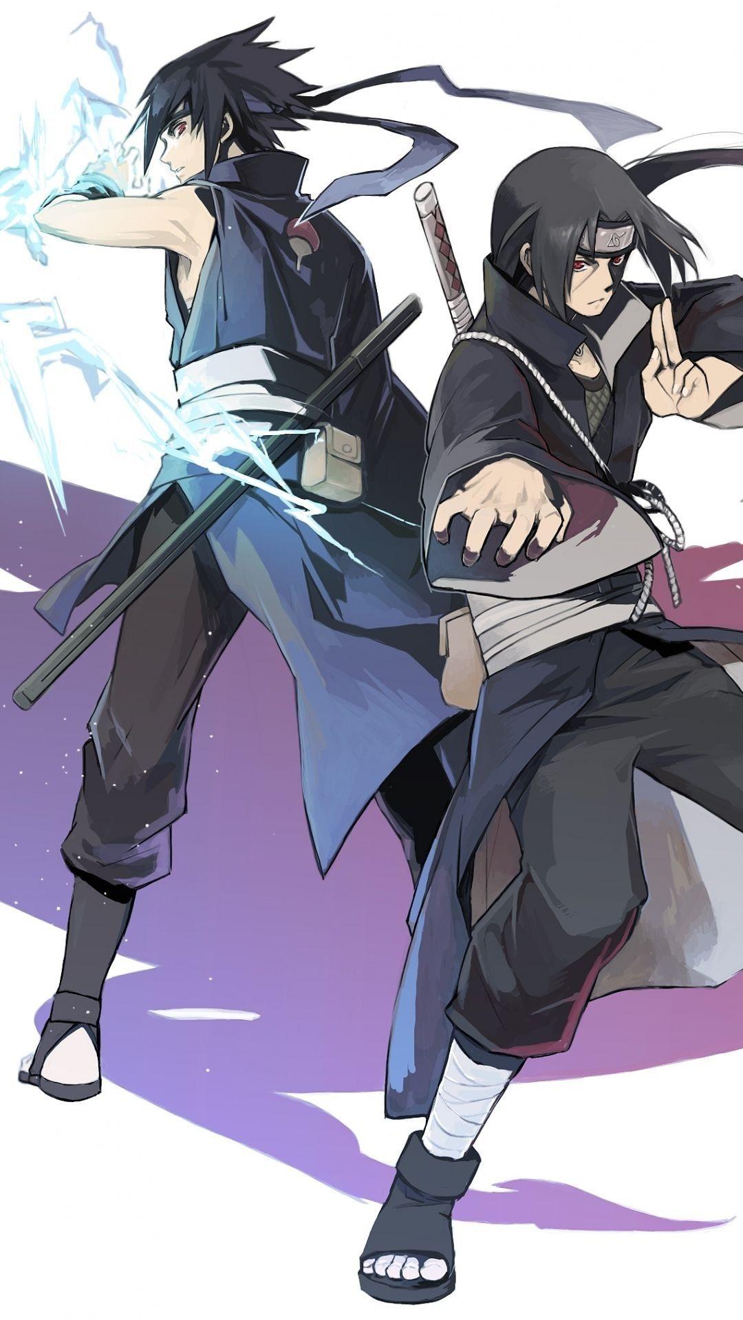 Iphone X Xr Xs 6 7 8 Plus Soft Tpu Case Cover Uchiha Itachi And Sasuke Sasuke And Itachi Itachi Uchiha Itachi