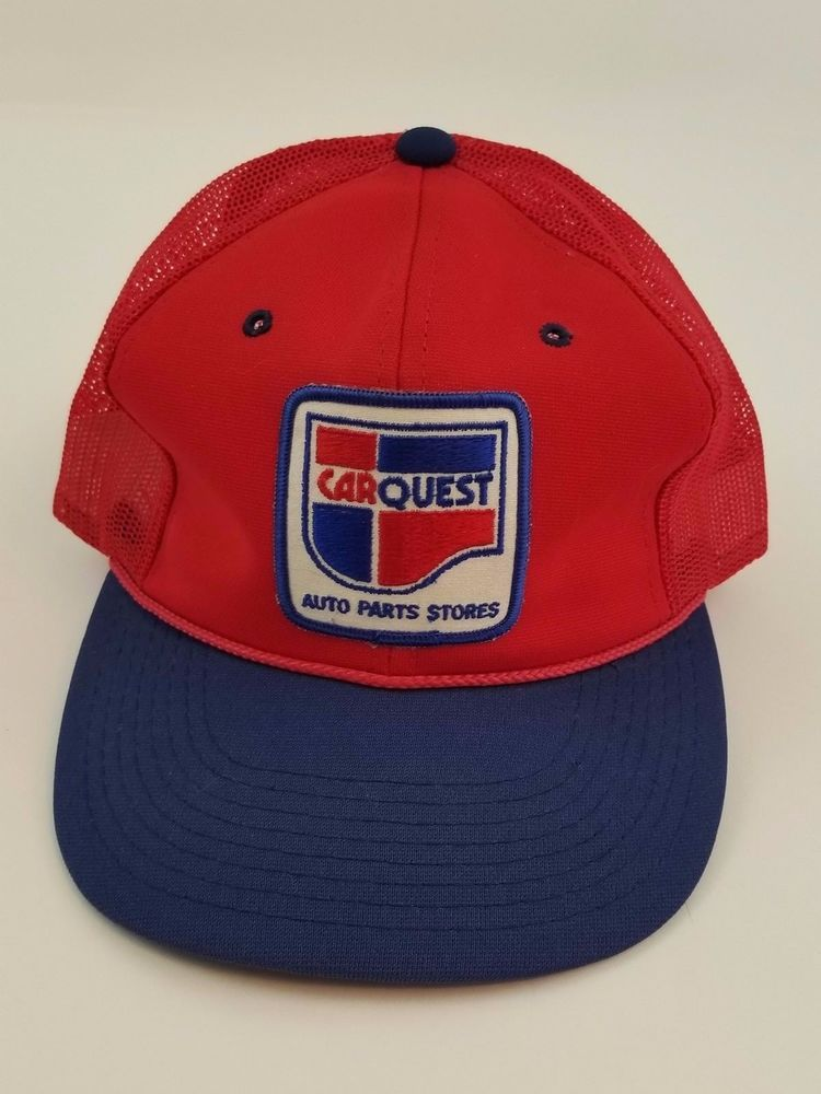 Quest Auto Parts >> Car Quest Auto Part Stores Trucker Mesh Hat Cap Snap Back Red