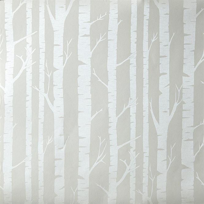 Oh La La Tapet trees gray Kinderzimmer tapete, Mädchen
