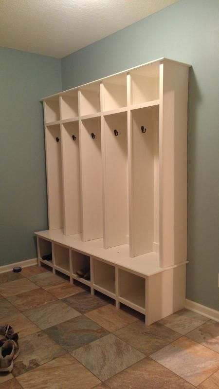 Mudroom Lockers Do It Yourself Home Projects From Ana White Mud Room Storage Mudroom Lockers Mudroom Furniture