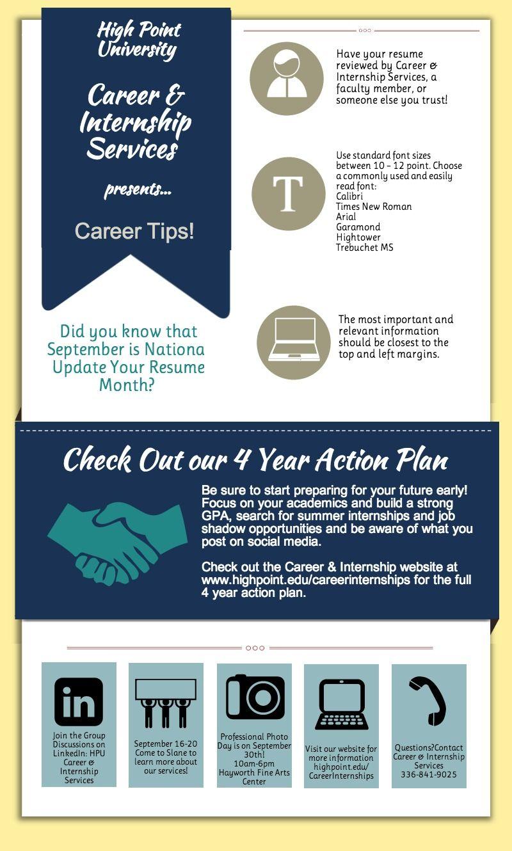 career internship services tips piktochart infographic