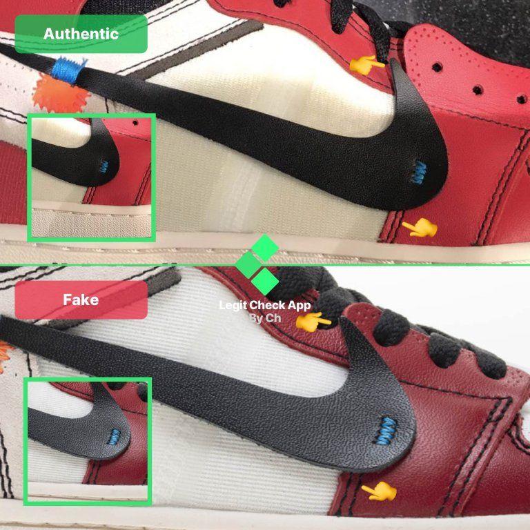 How To Spot Fake Off-White Air Jordan 1