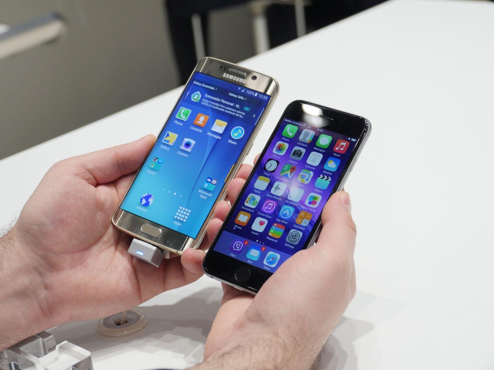 samsung galaxy s6 edge vs apple iphone 6 plus camera. Black Bedroom Furniture Sets. Home Design Ideas