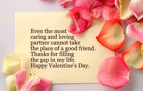 Happy Valentines Quotes Valentines Day Wishes For Friendsvalentine Quotes For Friends .