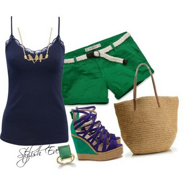 1ed178c92b8d Blue Spring/ Summer 2013 Outfits for Women by | Clothes!! | Outfits ...