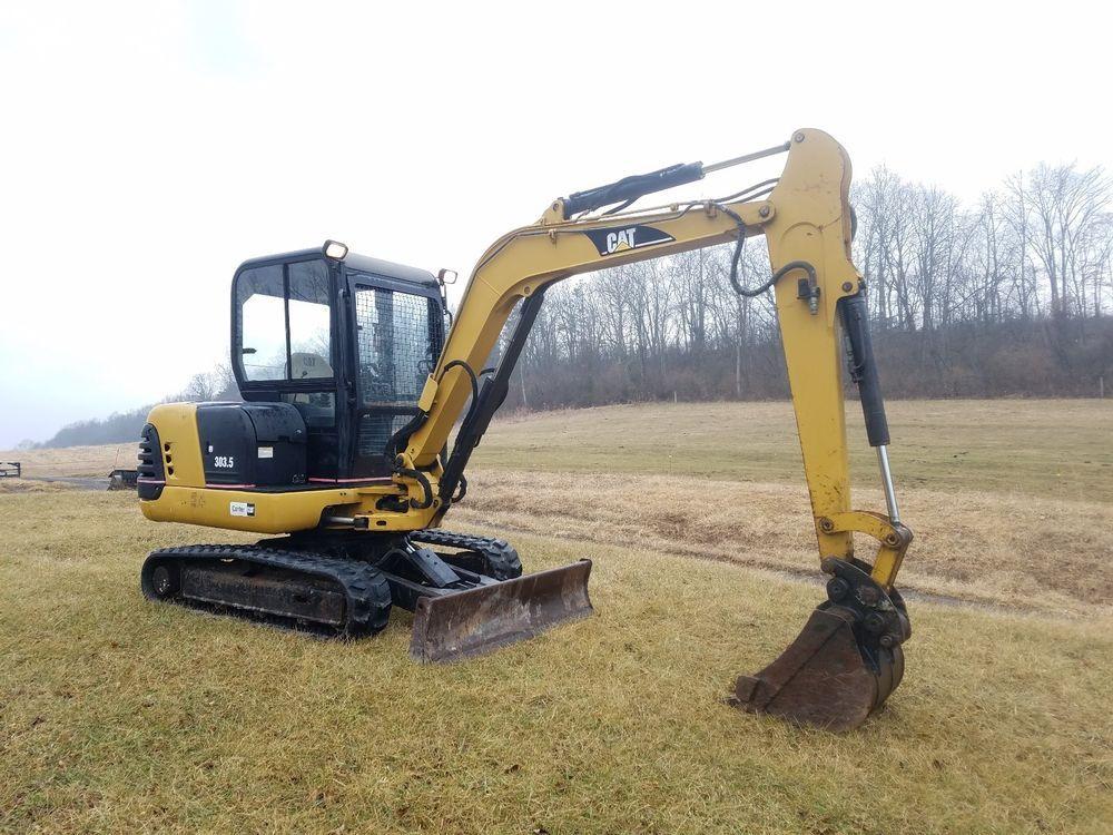 2000 Cat Caterpillar 303 5 Mini Hydraulic Diesel Excavator