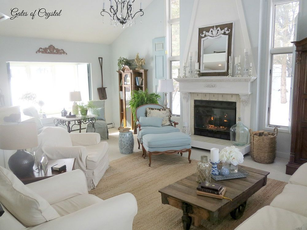 Lovely Open Living Room Furnishings Are Nice And Arranged In A Pleasing Setting