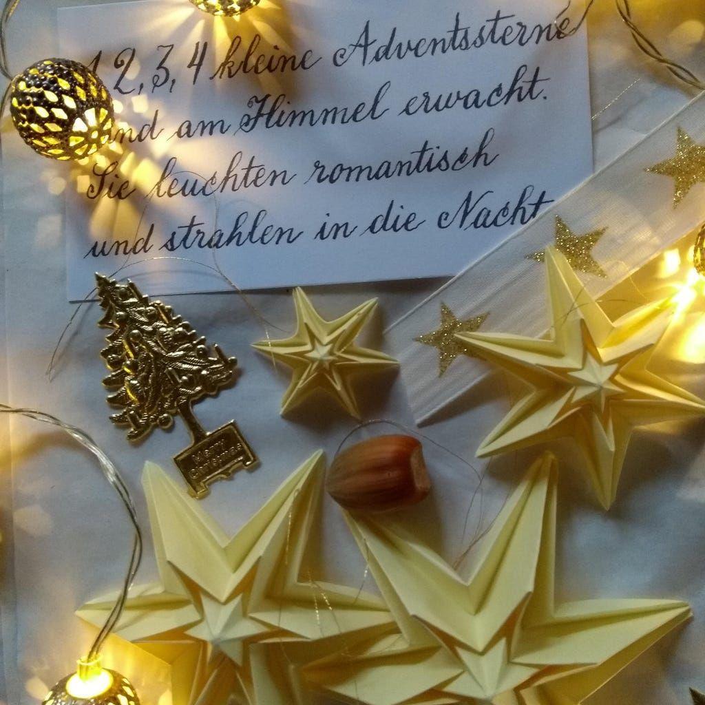 Landlust Stern Basteln Weihnachten Sterne Papier Basteln Weihnachten Weihnachtsstern Basteln