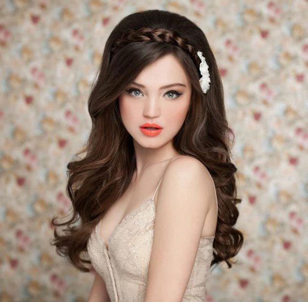 Strange Hairstyle For Long Hair Hairstyles And Long Hair On Pinterest Hairstyles For Women Draintrainus