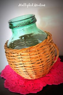 For the love of vintage bottles...stop by mollykidstudios.blogspot.com and learn how we get them looking fabulous after we find them at European flea markets!