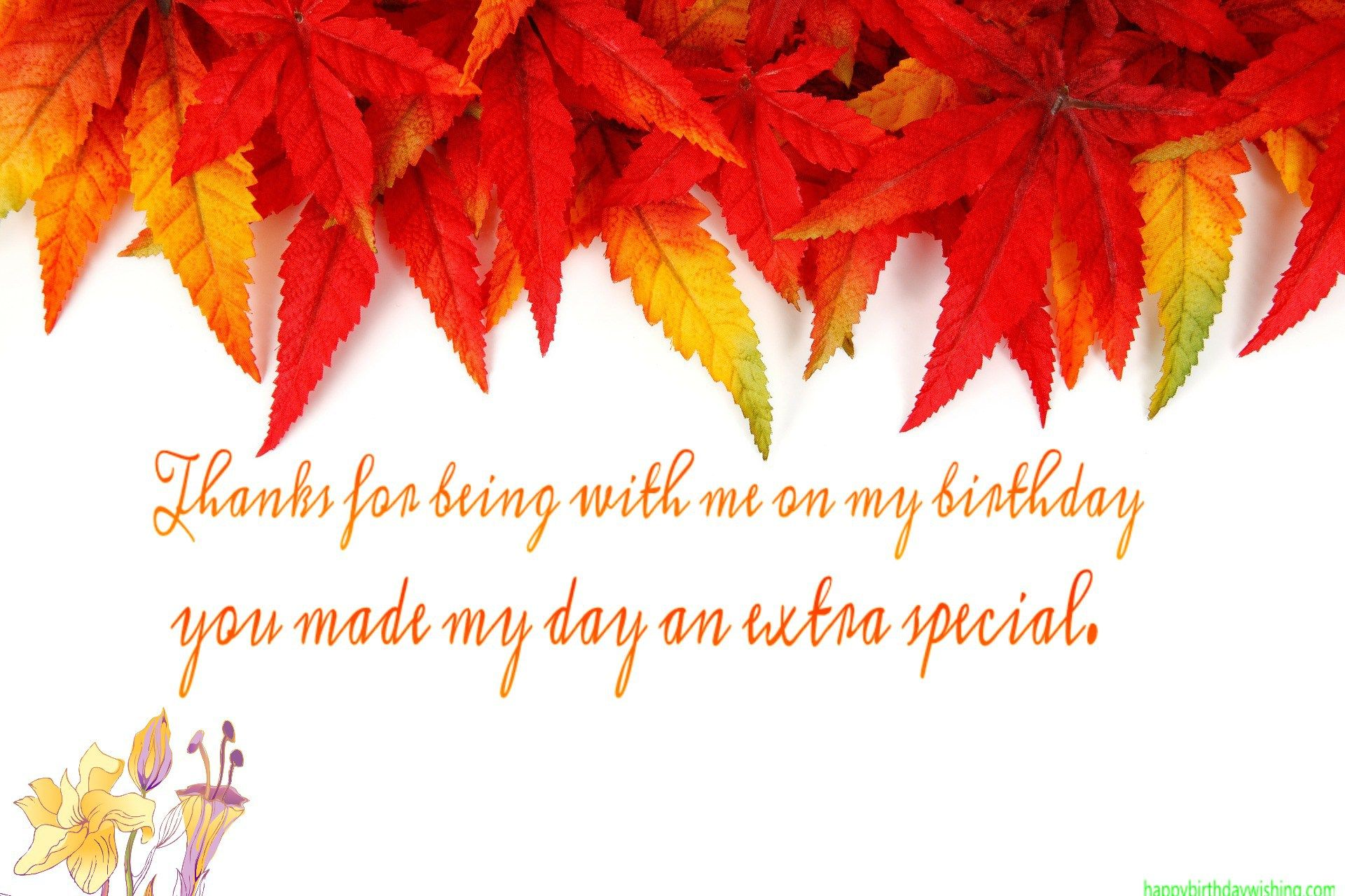Thanks For Wishing Happy Birthday Images Thank You For Wishing Me