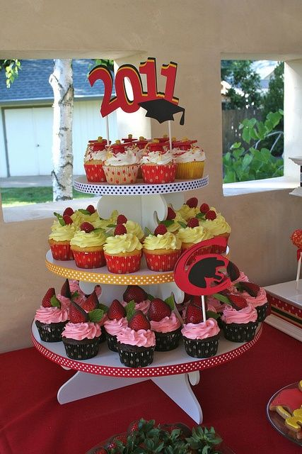graduation cupcakes graduation-ideas