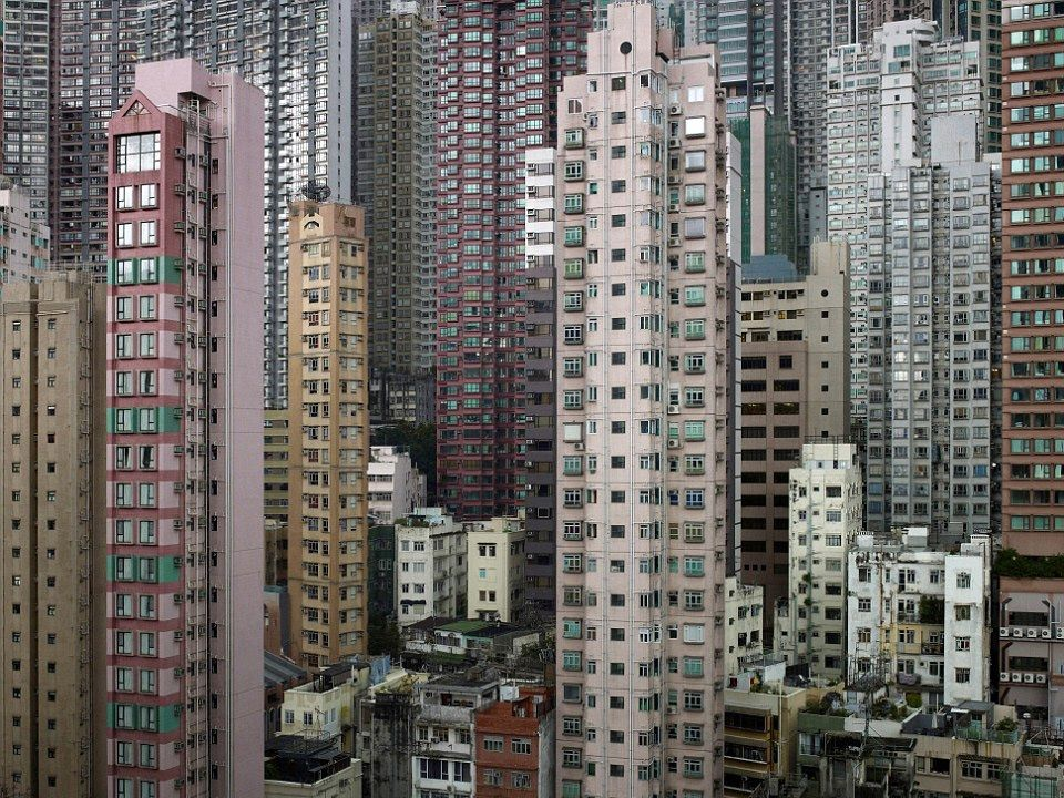 Great Living Cubicles, Hong Kong By Michael Wolf