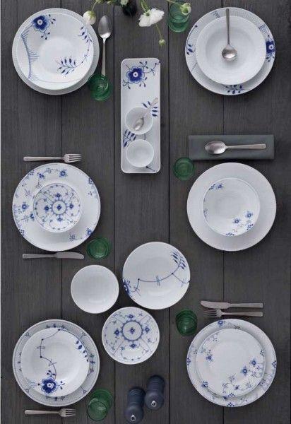 royal copenhagen elements blau tasse 0 25 l 2 tlg k che. Black Bedroom Furniture Sets. Home Design Ideas