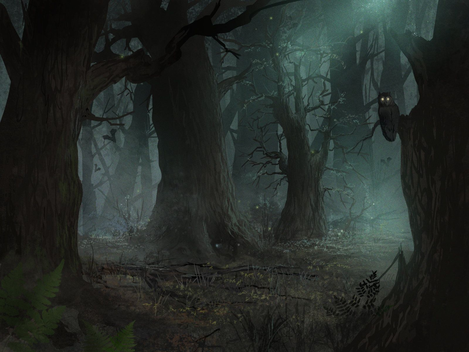 Warrior Cats Dark Forest Attack Animated