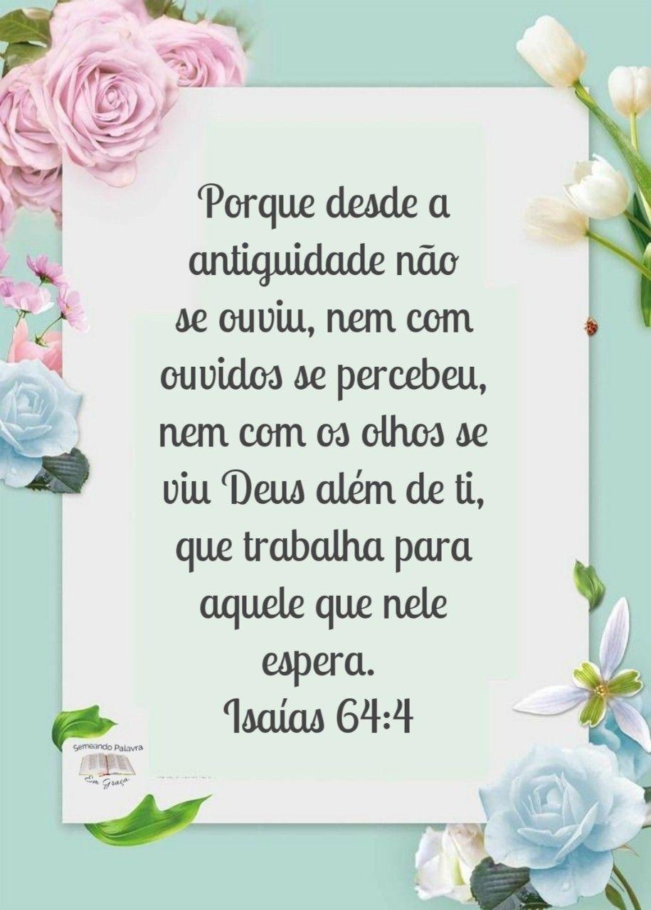 Pin De Tatiane Barros Em Jesus Palavra De Deus Declaracao De