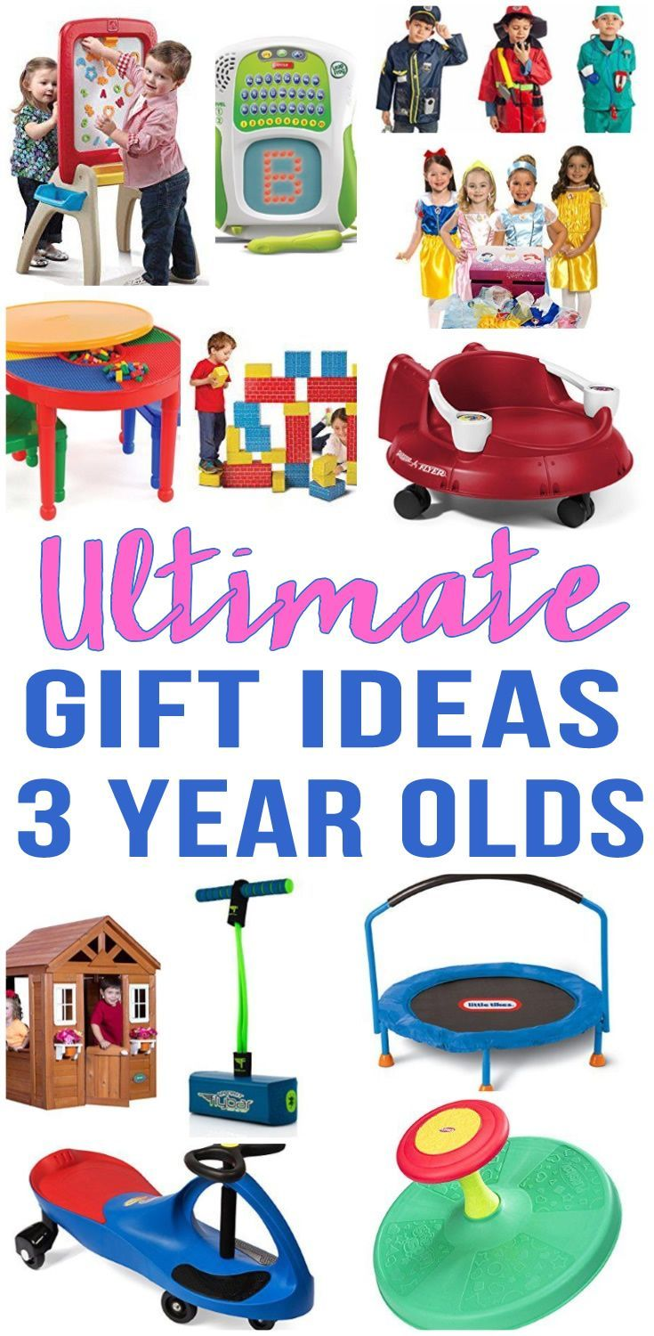 Best Gifts For 3 Year Old | Toddler christmas gifts ...