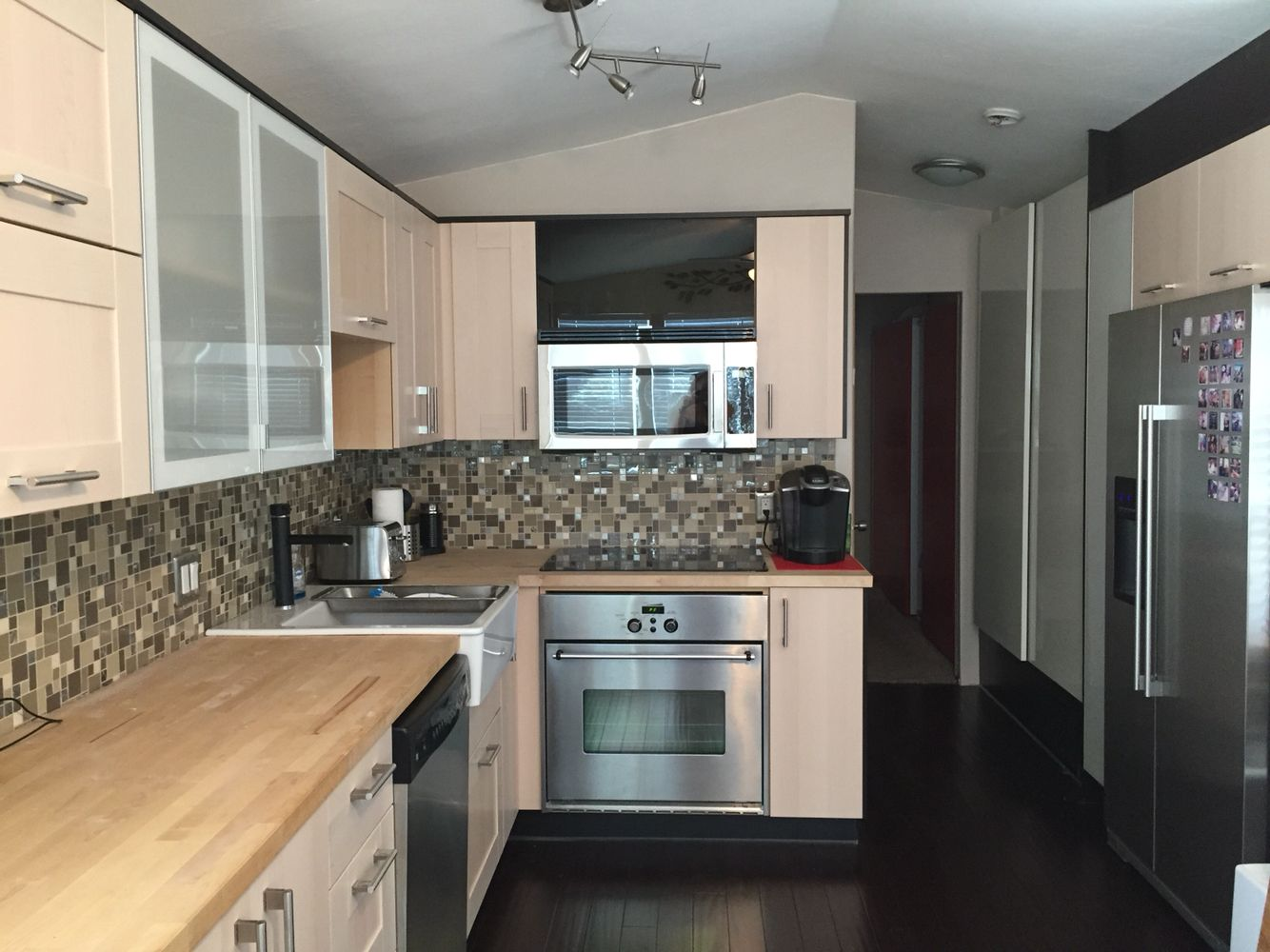 IKEA Kitchen In Our Remodeled Park Model   Tiny House
