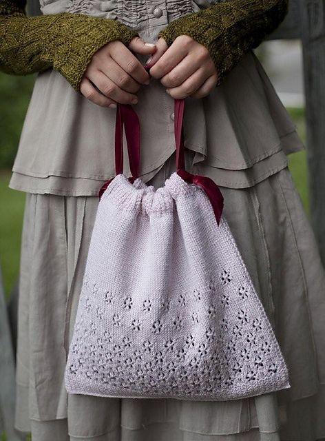 Ravelry: Miss Bennet\'s Beaded Bag pattern by Joanna Johnson | Jane + ...