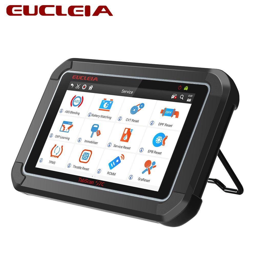 EUCLEIA TabScan S7C OBD2 Diagnostic Auto Professional Code Read