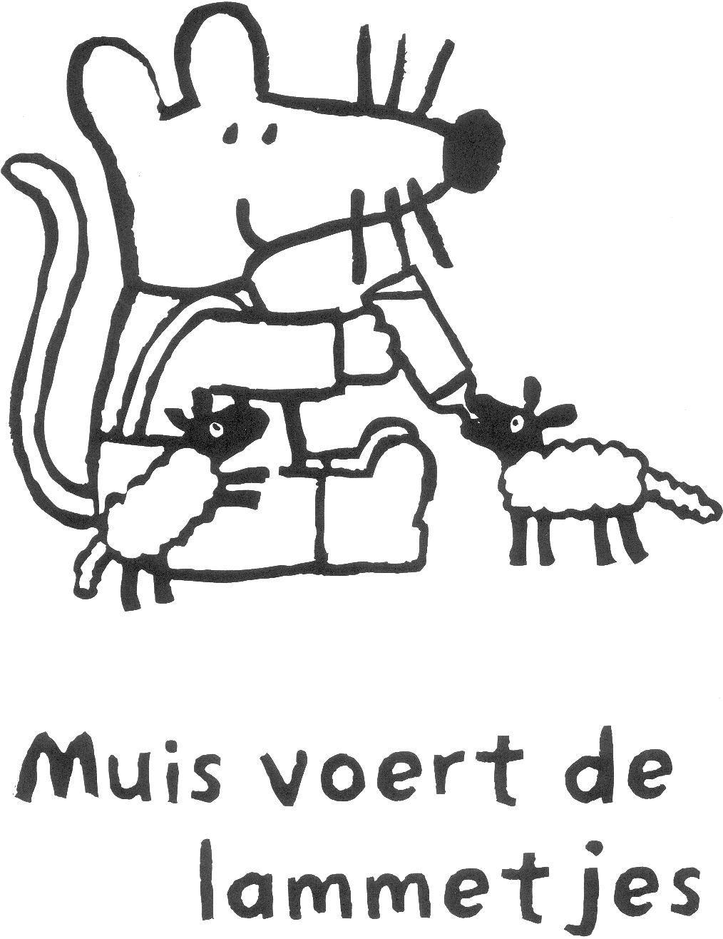 Muis voert de lammetjes | maisy mouse | Pinterest