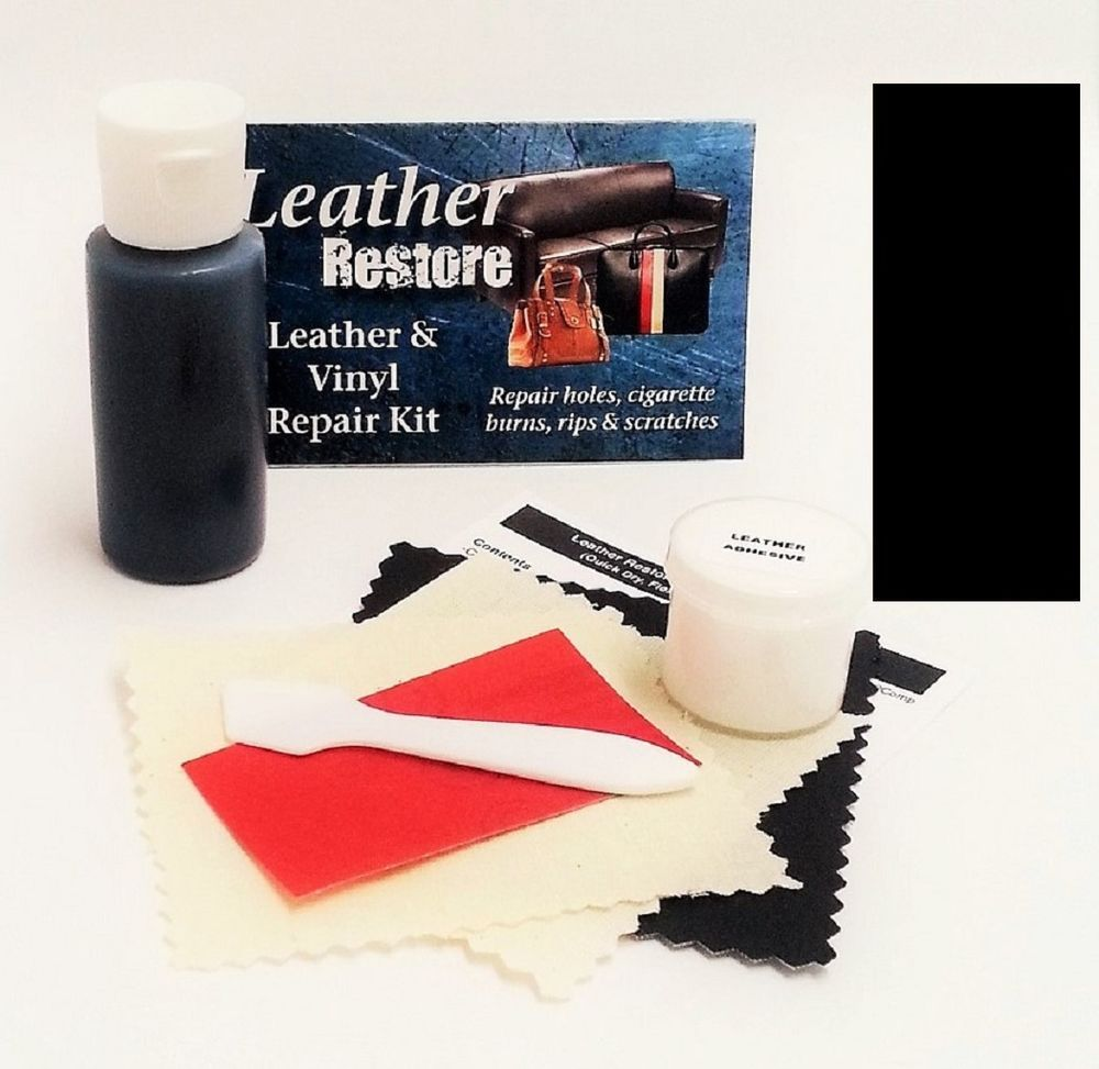 Air Dry Leather Vinyl Repair Kit Black Color Repair Restore Couch Car Jacket Leather Couch Repair Vinyl Repair Leather Repair